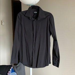 A black Apt. 9 dress shirt